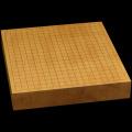 本榧卓上碁盤 2寸4分(一枚板・天地柾) gb20275