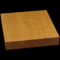 本榧卓上碁盤 2寸5分(一枚板・天柾) gb20277