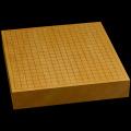 本榧卓上碁盤 2寸5分(一枚板・天柾) gb20278