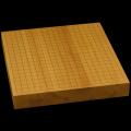 本榧卓上碁盤 2寸(一枚板・木裏) gb20282