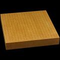 本榧卓上碁盤 2寸2分(一枚板・木裏) gb20286
