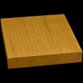 本榧卓上碁盤 2寸4分(一枚板) gb20287