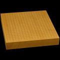 本榧卓上碁盤 2寸2分(一枚板・天柾) gb20289