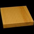 本榧卓上碁盤 2寸1分(一枚板・木裏) gb20290