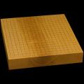 本榧卓上碁盤 2寸3分(一枚板・木裏) gb20291