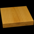 本榧卓上碁盤 2寸2分(一枚板・木裏) gb20292