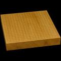 本榧卓上碁盤 2寸(一枚板・木表) gb20294