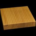 本榧卓上碁盤 2寸5分(一枚板・天柾) gb20305
