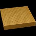 本榧卓上碁盤 2寸2分(一枚板・天柾) gb20306