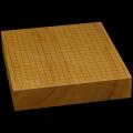 本榧卓上碁盤 2寸8分(一枚板・天柾) gb20307
