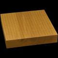 本榧卓上碁盤 2寸5分(一枚板・木裏) gb20309