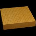 本榧卓上碁盤 2寸6分(一枚板・木裏) gb20311