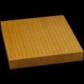 本榧卓上碁盤 2寸(一枚板・天柾) gb20313