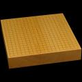 本榧卓上碁盤 2寸5分(一枚板・木裏) gb20314
