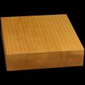 本榧卓上碁盤 3寸5分(一枚板・天柾) gb30024