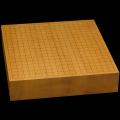 本榧卓上碁盤 3寸(一枚板・天地柾) gb30025