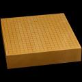 本榧卓上碁盤 2寸9分(一枚板・天柾) gb30029