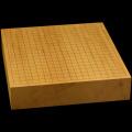 本榧卓上碁盤 3寸(一枚板・追柾) gb30030