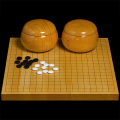 本榧1寸卓上碁盤セット(ハギ盤・上)