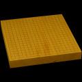 本榧卓上碁盤 1寸7分(ハギ盤) gt10018