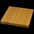 国産本榧卓上碁盤 1寸4分(ハギ盤) gt10020