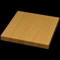 国産本榧卓上碁盤 1寸4分(ハギ盤) gt10021