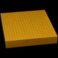 本榧卓上碁盤 2寸3分(ハギ盤) gt20039