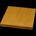 【おまかせ】本榧卓上碁盤 1.5寸(ハギ盤・上)