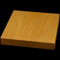 【おまかせ】本榧卓上碁盤 2寸(ハギ盤・上)