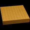 国産本榧卓上将棋盤 1寸9分(一枚板・柾目) sb10242