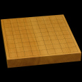 本榧卓上将棋盤 1寸5分(一枚板・天柾) sb10250