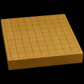 本榧卓上将棋盤 1寸7分(一枚板・天柾) sb10253