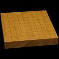 本榧卓上将棋盤 1寸7分(一枚板・天柾) sb10256