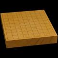 本榧卓上将棋盤 1寸9分(一枚板・木裏) sb10278