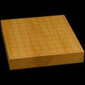 本榧卓上将棋盤 1寸9分(一枚板・天地柾) sb10280