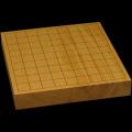 本榧卓上将棋盤 1寸7分(一枚板・木裏) sb10323