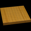 本榧卓上将棋盤 1寸2分(一枚板・天柾) sb10324