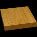 本榧卓上将棋盤 1寸9分(一枚板・木裏) sb10352