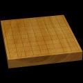 本榧卓上将棋盤 1寸5分(一枚板・木裏) sb10353