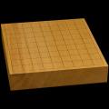 本榧卓上将棋盤 2寸2分(一枚板・四方柾) sb20448