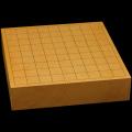 本榧卓上将棋盤 2寸5分(一枚板・天柾) sb20450