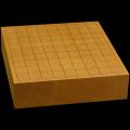 本榧卓上将棋盤 2寸8分(一枚板・天柾) sb20451