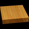 本榧卓上将棋盤 2寸1分(一枚板・天地柾) sb20455