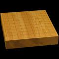 本榧卓上将棋盤 2寸1分(一枚板・木裏) sb20456