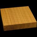 本榧卓上将棋盤 2寸1分(一枚板・天柾) sb20459
