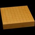 本榧卓上将棋盤 2寸1分(一枚板・木裏) sb20461
