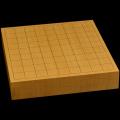 本榧卓上将棋盤 2寸1分(一枚板・天地柾) sb20462