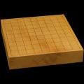 国産本榧卓上将棋盤 2寸1分(一枚板・天柾) sb20465