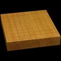 本榧卓上将棋盤 2寸1分(一枚板・天地柾) sb20474