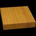 本榧卓上将棋盤 2寸2分(一枚板・天柾) sb20475